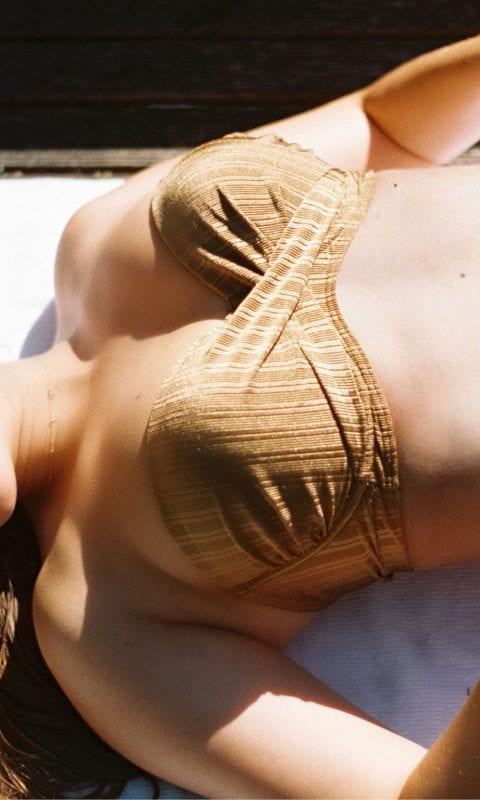 Beachlife swimwear Dull Gold bikini SS21
