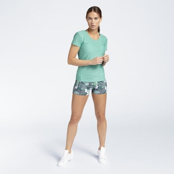 B ACTIVE T-Shirt Lagoon & Sport short Structures