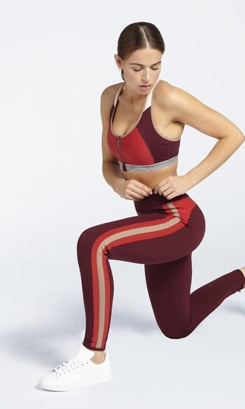 B ACTIVE Sport BH & Sportlegging Tawny Port