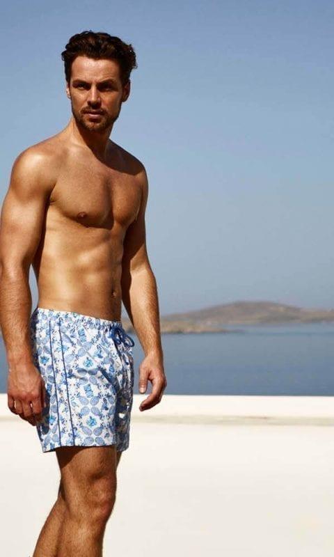 Beachlife zwembroek 890201-682 tiki-luau