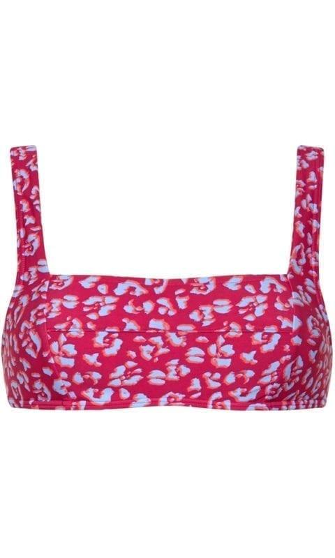 Beachlife Cheeky leopard bikini top 965129-557