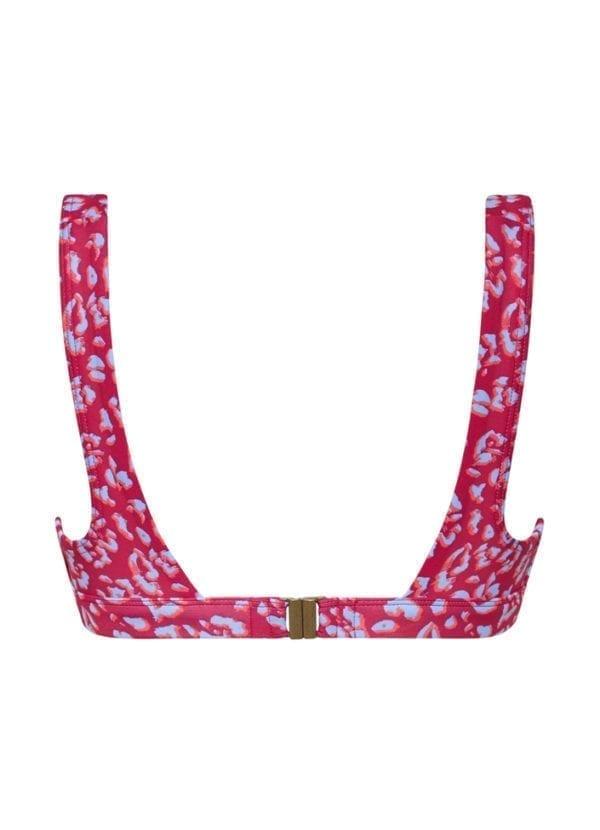 Beachlife Cheeky leopard bikini top 965130-557