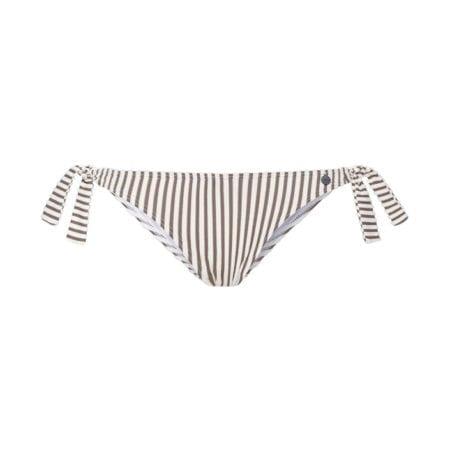 Beachlife Taupe Stripe bikini broekje 970208-782