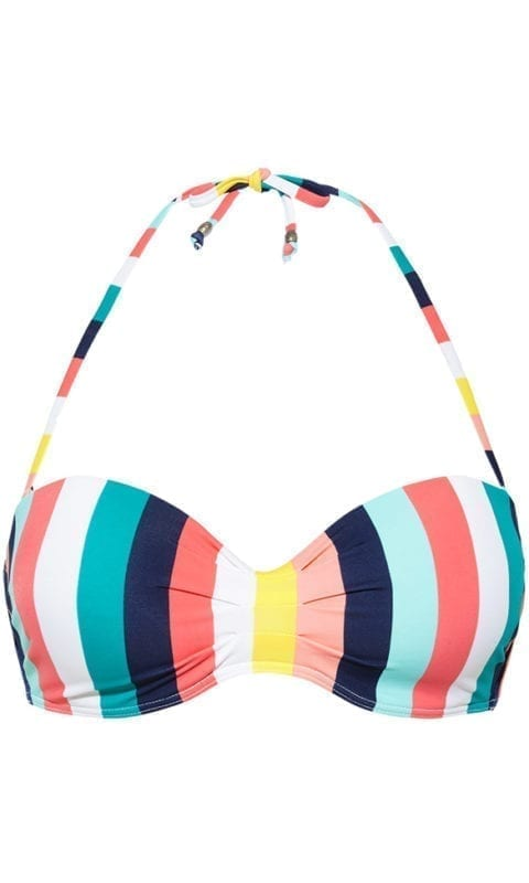 Beachlife Candy stripe bikini top 970103-158