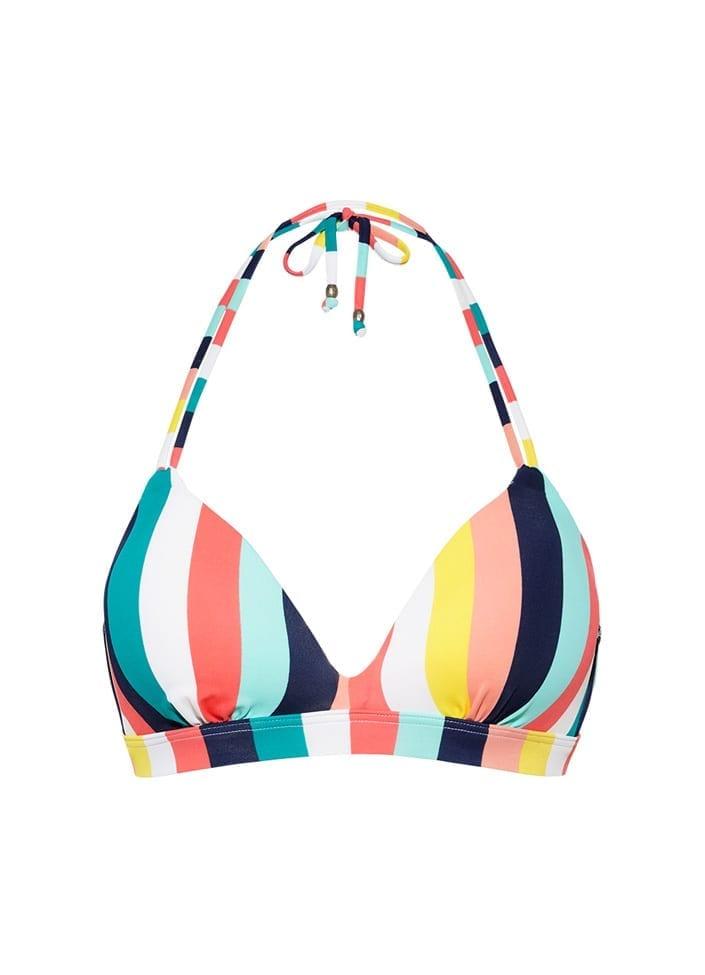 712e35b7bb6a7f Candy Stripe halter bikinitop kopen? | Beachlife 2019 collection