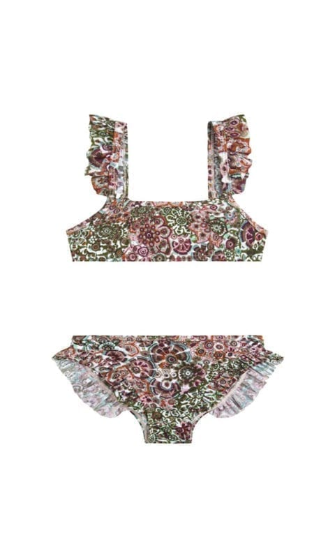 Beachlife Blossom boutique mini meisjes bikini 960160-783
