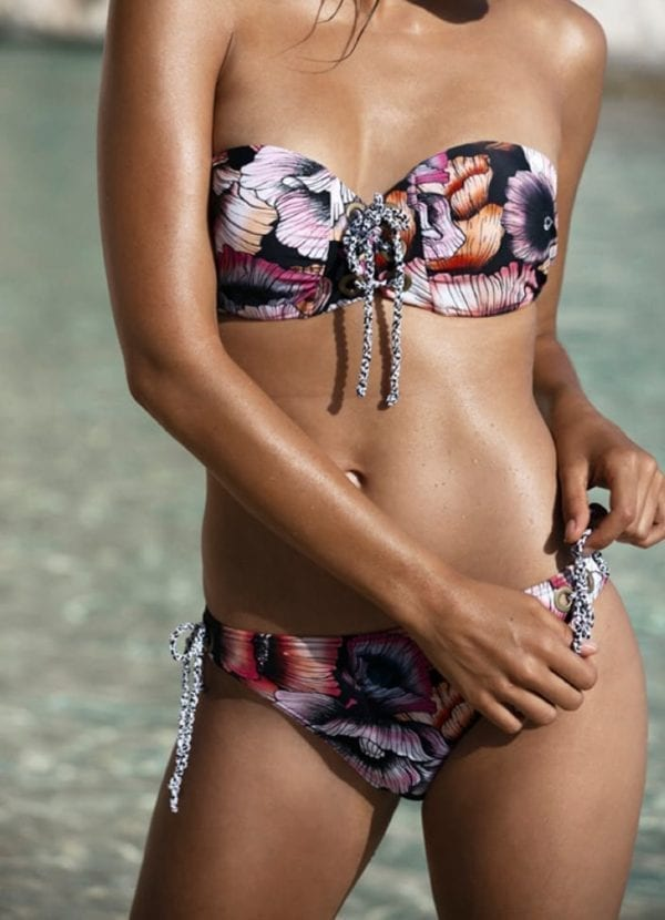Beachlife California poppies1 bikini top 970119-958