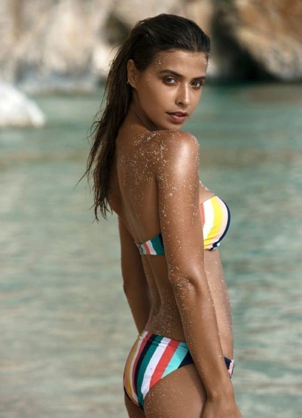 Beachlife Candy stripe bikini top 970103-158