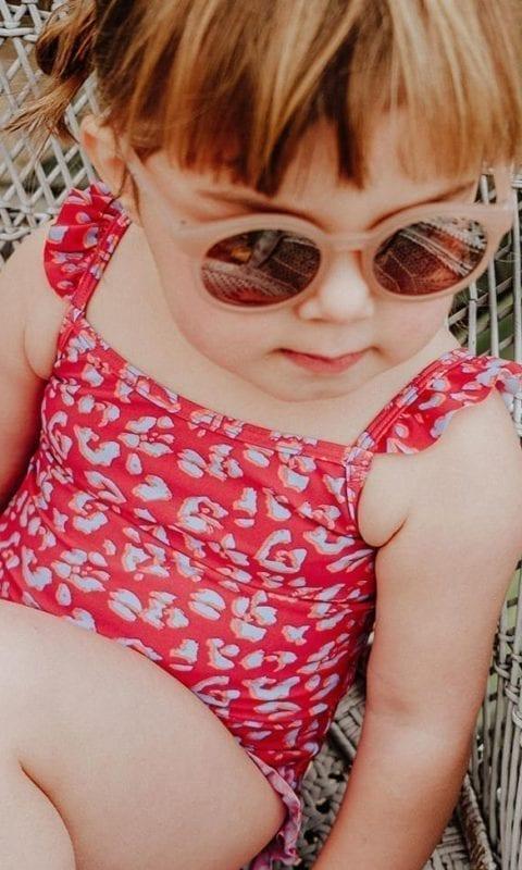 Beachlife Cheeky leopard mini meisjes badpak 965161-557