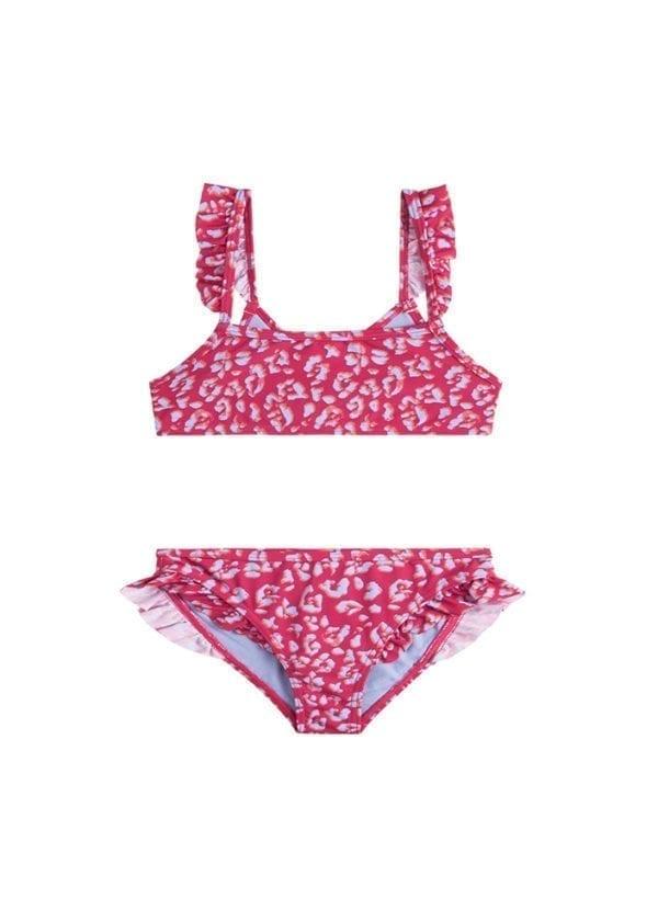 Beachlife Cheeky leopard mini meisjes bikini 960160-557