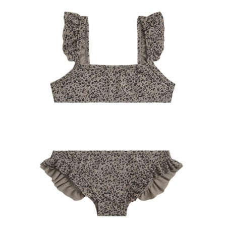 Beachlife Cheetah mini meisjes bikini 960160-960