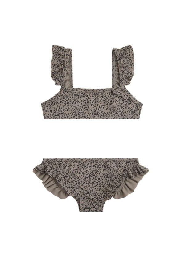 Beachlife Cheetah mini meisjes bikini 960160-960