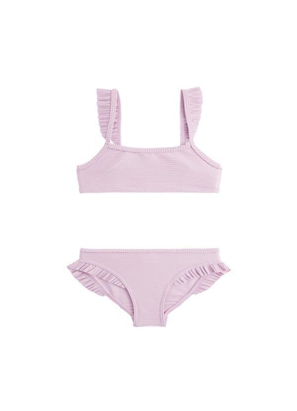 Beachlife Fragrant lilac mini meisjes bikini 960160-270