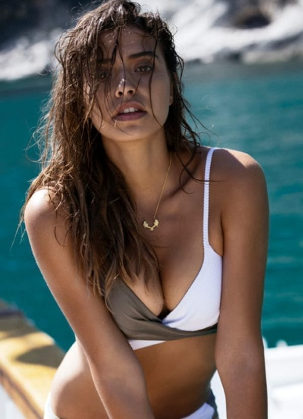 Beachlife White bikini top 970112-067