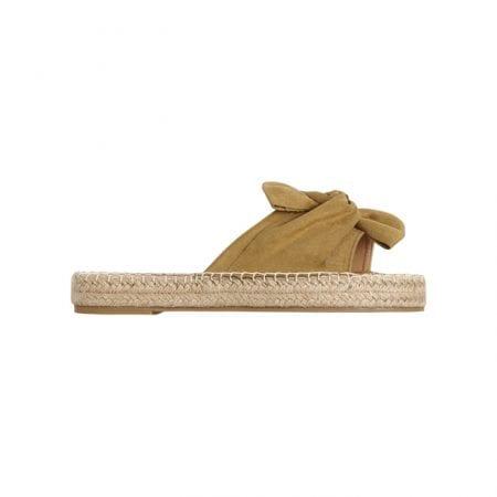 Beachlife Dull Gold slippers
