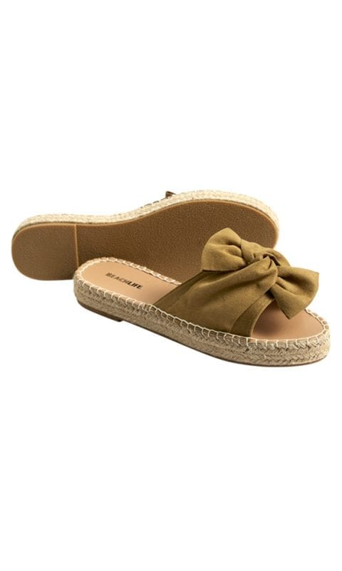 Beachlife Dull Gold slippers