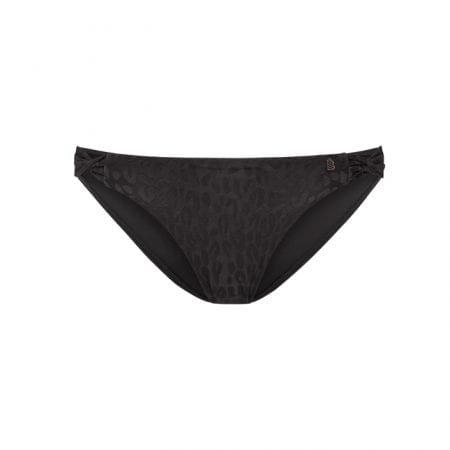 Beachlife Textured Leo twist bikini bottom Regular fit