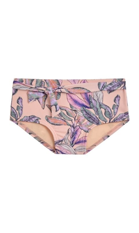Beachlife Tropical Blush girls bikini shorts 4 - 16 years