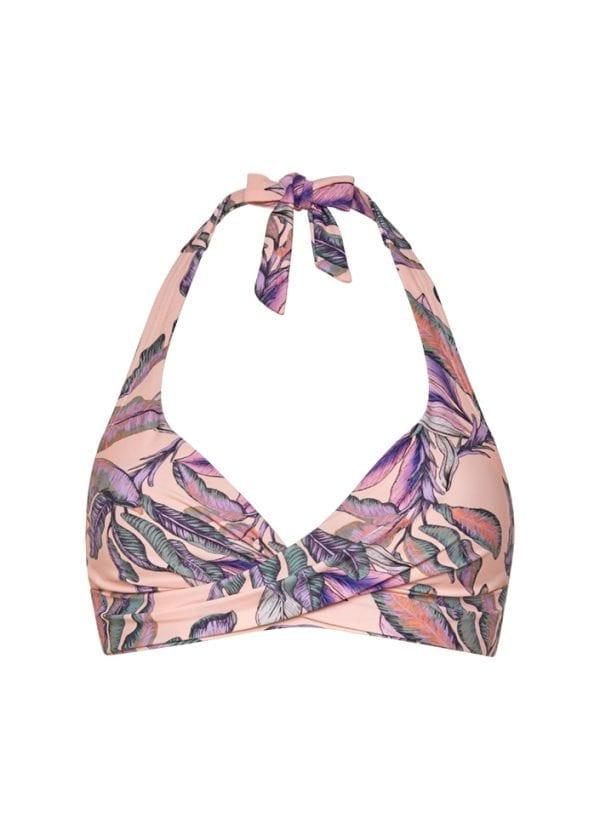 Beachlife Tropical Blush overslag bikinitop