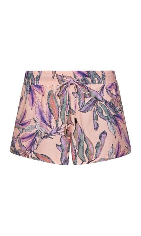 Beachlife Tropical Blush short Badkleding materiaal