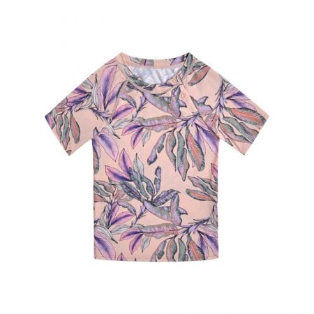 Beachlife Tropical Blush kids UV-shirt 6 months - 10 years