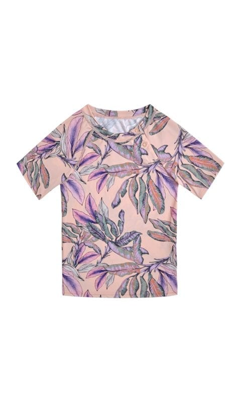 Beachlife Tropical Blush kids UV-shirt 6 maanden t/m 10 jaar