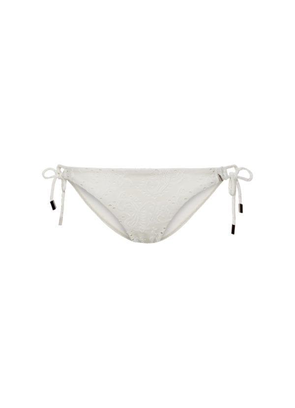 Beachlife Blanc de Blanc strik bikinibroekje normale fit