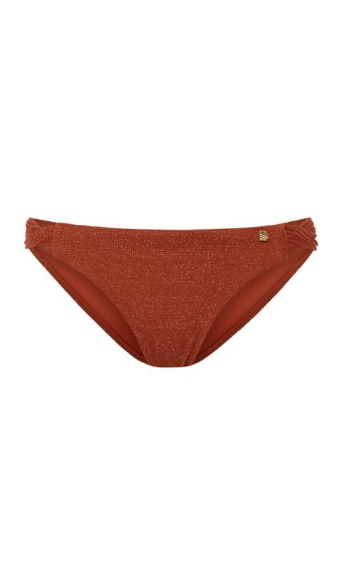 Beachlife Earthy Shimmer twist bikinibroekje normale fit