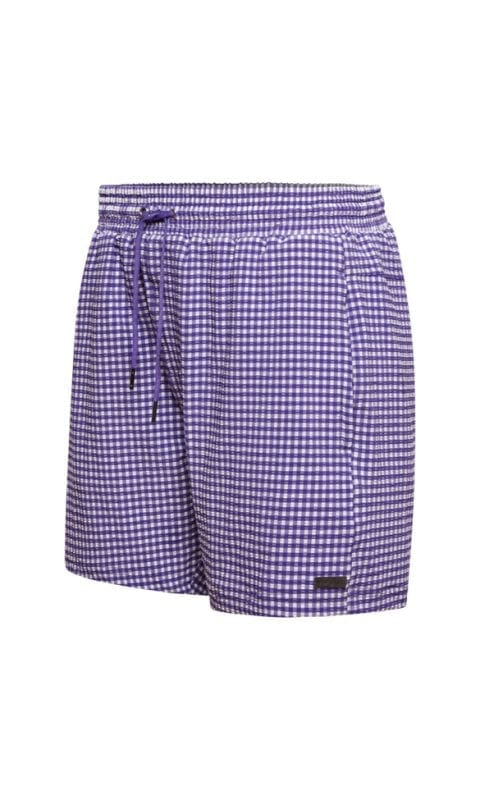 Beachlife Purple Check heren zwembroek maat S t/m XXL