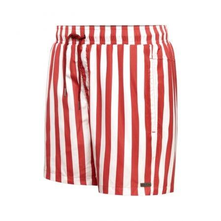 Beachlife Stripe Garnet heren zwembroek maat S t/m XXL