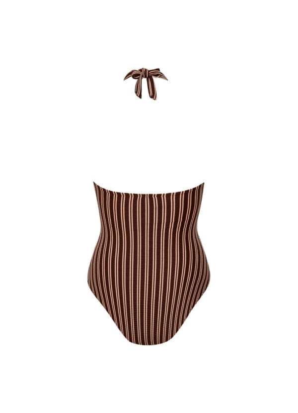 Beachlife Sweet Coffee halter badpak Uitneembare padding