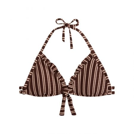 Beachlife Sweet Coffee girls bikini top 8 - 16 years