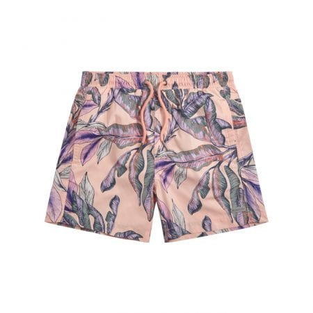 Beachlife Tropical blush boys swim shorts 6 months - 16 years