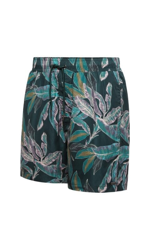 Beachlife Tropical Pine men's swim shorts