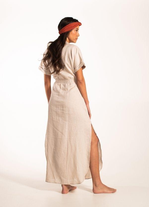 Beachlife Pumice Stone maxi-jurk Van viscose
