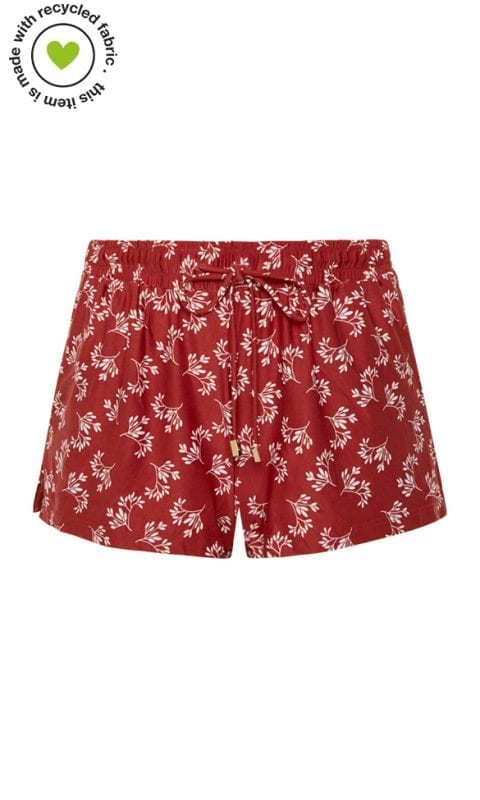 Beachlife Little Leaves short Van badkleding materiaal