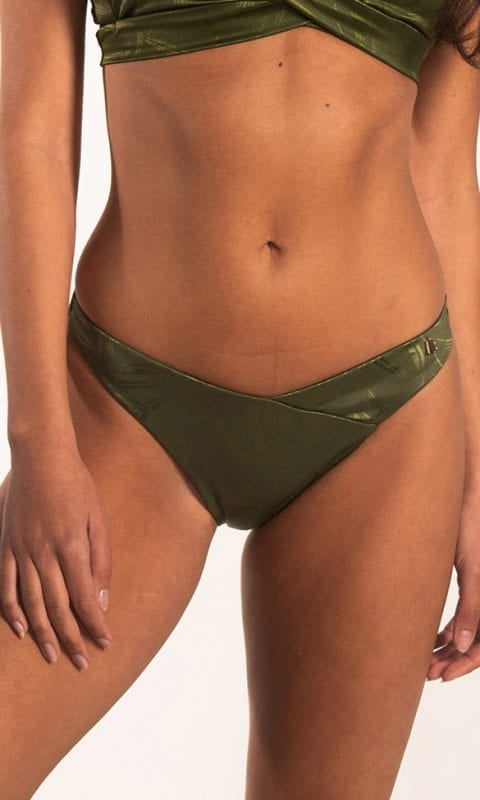 Beachlife Pesto V-detail bikinibroekje Lage fit