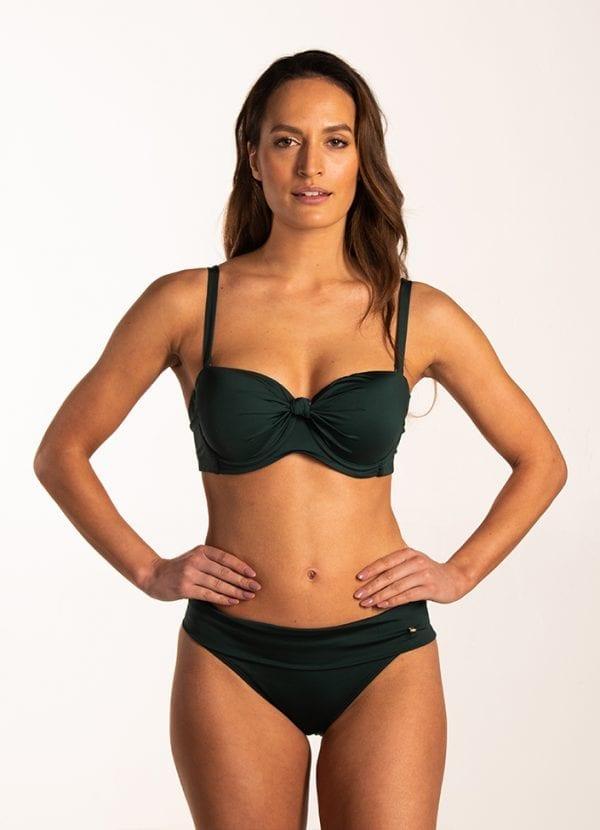 Beachlife Rich Green omslag bikinibroekje Bedekte fit