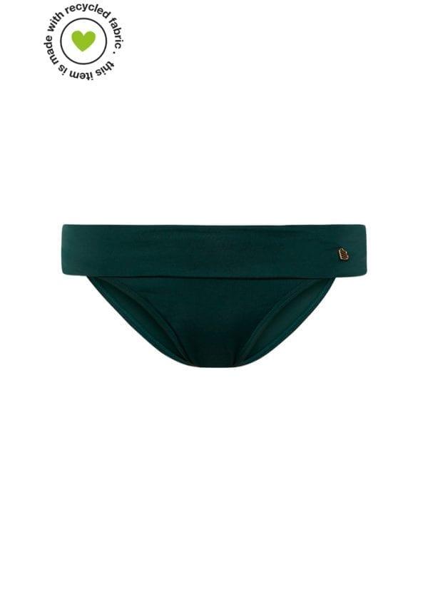 Beachlife Rich Green omslag bikinibroekje
