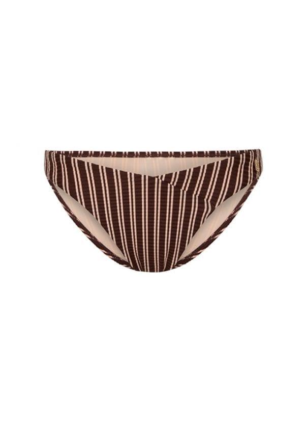 Beachlife Sweet Coffee V-detail bikini bottom Low fit