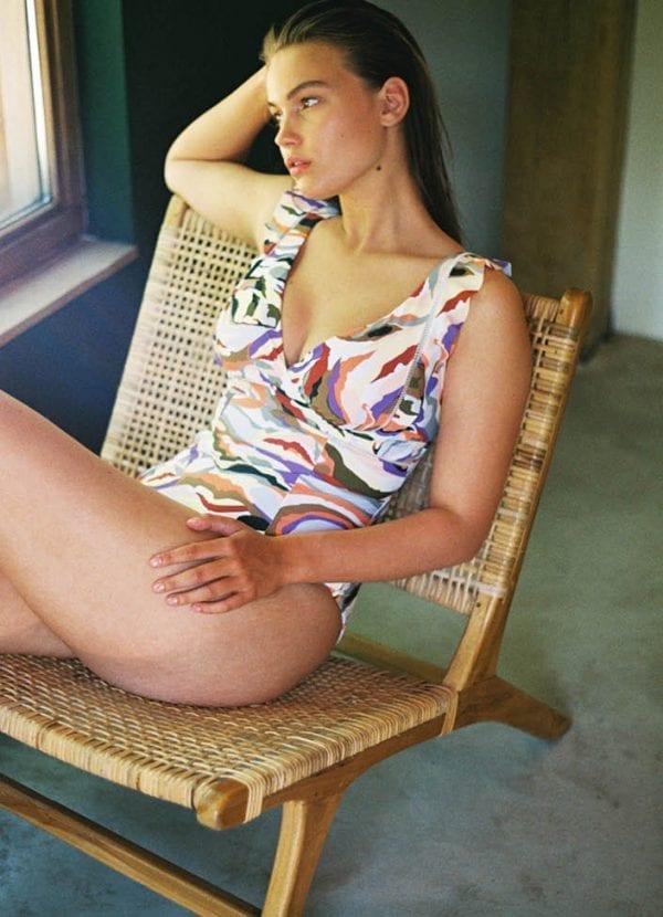 Beachlife swimwear Artisan badpak ruffle SS21