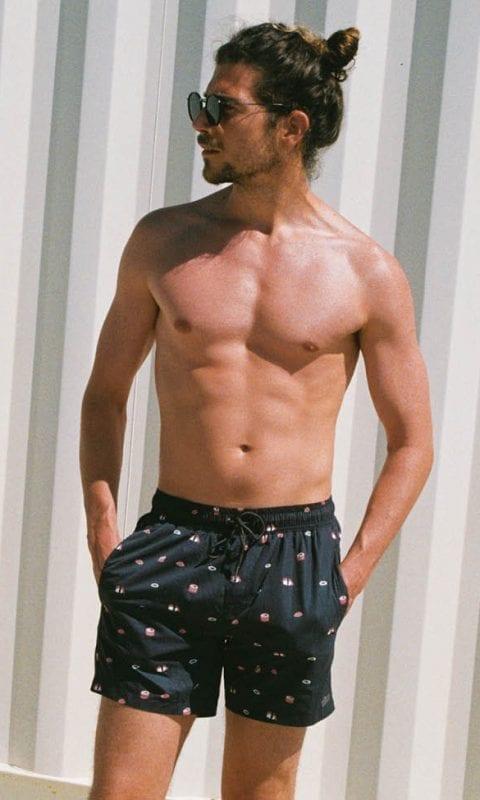Beachlife swimwear men's swim shorts Sushi SS21