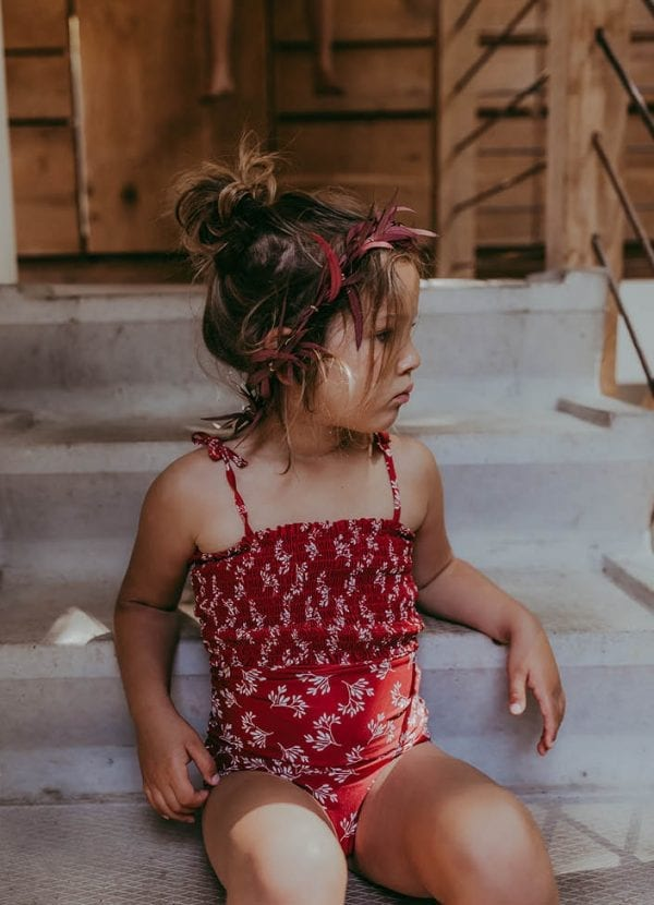 Beachlife swimwear Little Leaves Kids swimsuit SS21