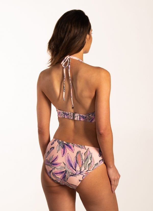 Beachlife Tropical Blush hoog bikinibroekje Bedekte fit