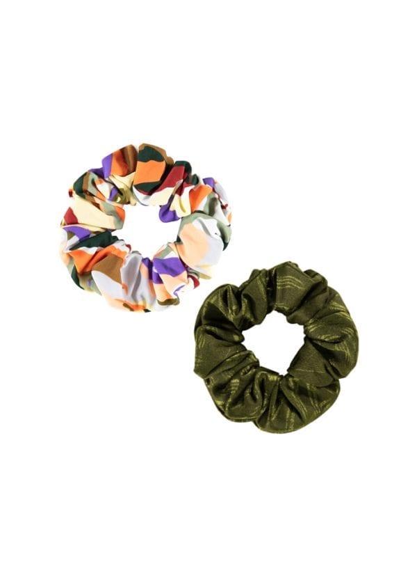 Beachlife Scrunchies | 2 st. Artisan & Pesto